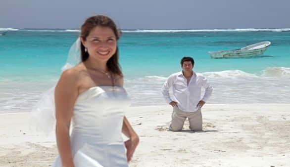 Hochzeit in der Karibik