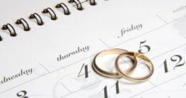 Hochzeit: Planungshilfen gestern und heute