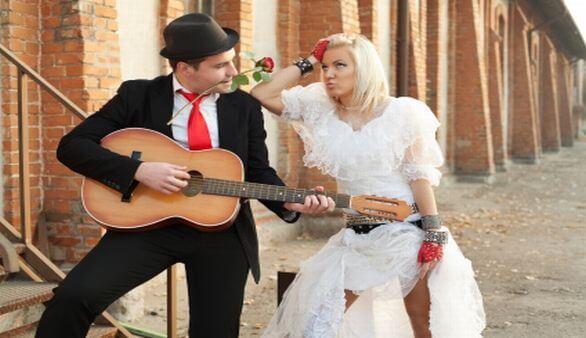 Unterhaltungsprogramm auf der Hochzeit