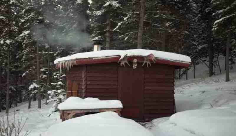 Schwedische Sauna