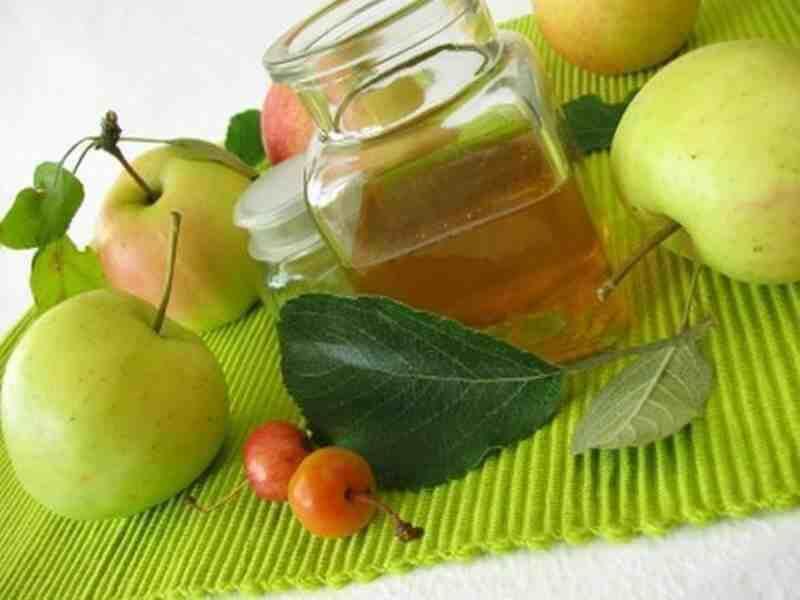 Apfelessig Abends Trinken