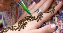 Henna-Verzierungen