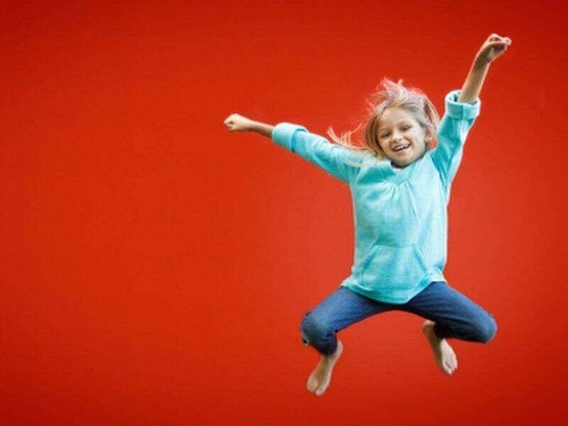 Kinder und Bewegung