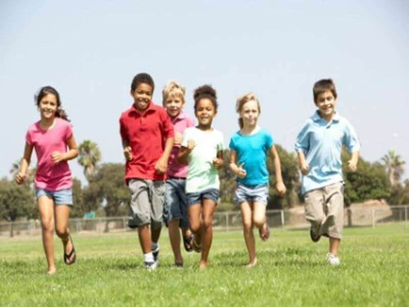 Kinder-Fitness