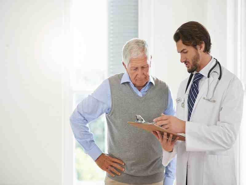 Beratung beim Arzt